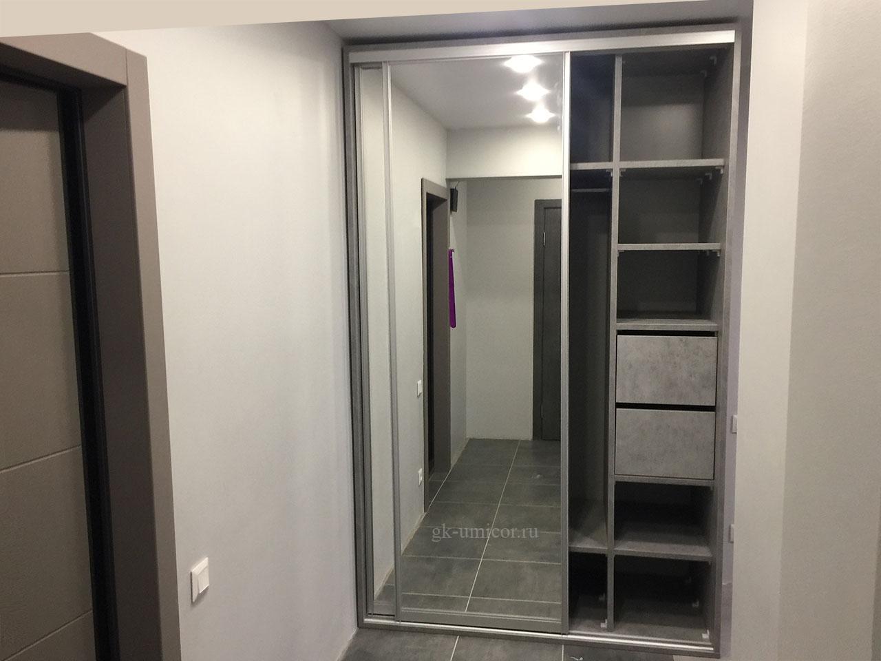Двухдверный шкаф-купе